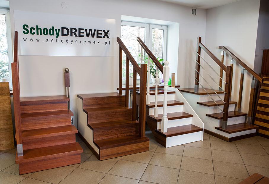 DREWEX - schody z drewna